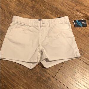 Girls white Denim Gap shorts